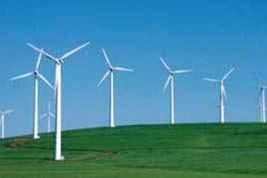 Horizontal Wind Turbine Model