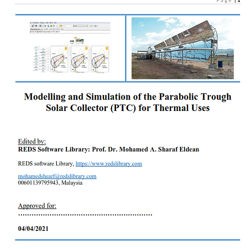 Modelling & Simulation of PTC for Thermal Uses: A Survey Report