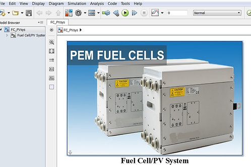 Fuel Cell Photovoltaic Power System