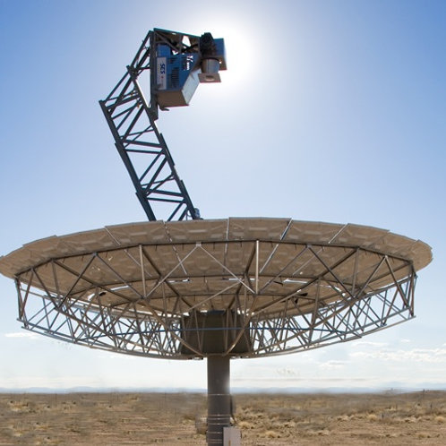 Concentrated Solar Dish Gas Engines