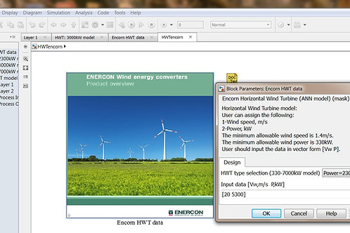 Horizontal Wind Turbine ANN Model