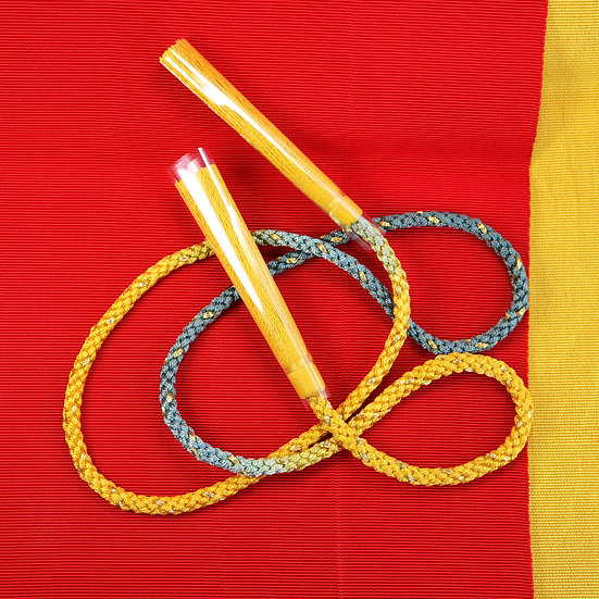 Graduation Kumihimo with Tassels