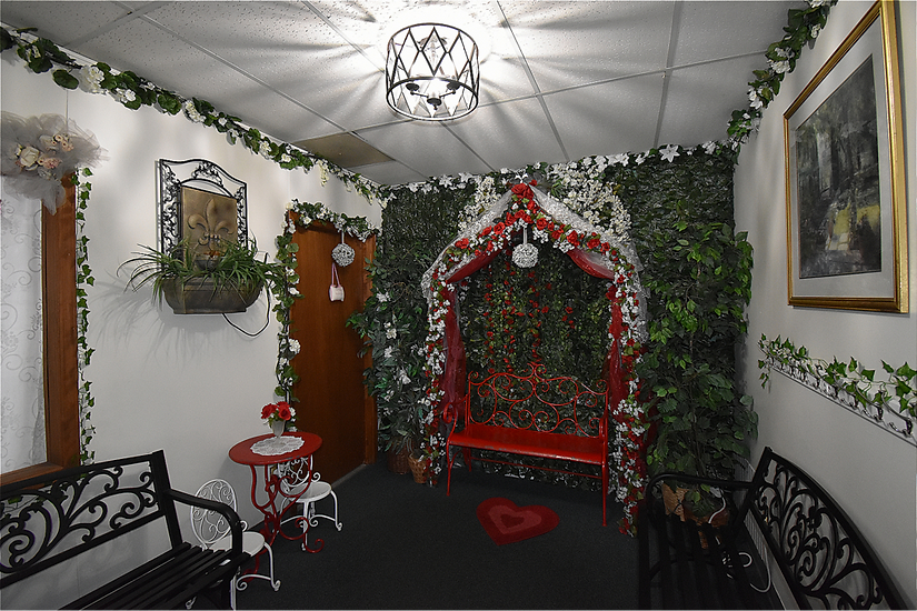 The Rose Garden Wedding Room