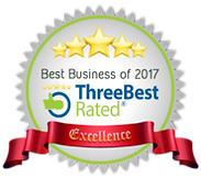 Best Business of 2017 ThreeBest Rated