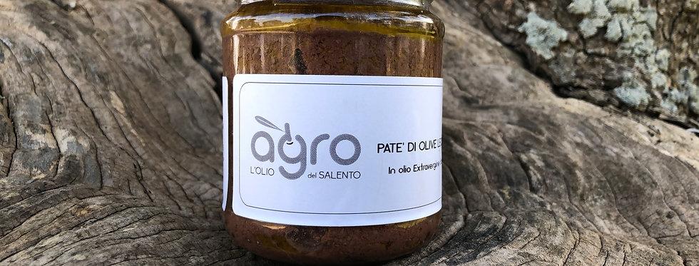 6 pz Patè di Olive Leccino 180g (brown patè)