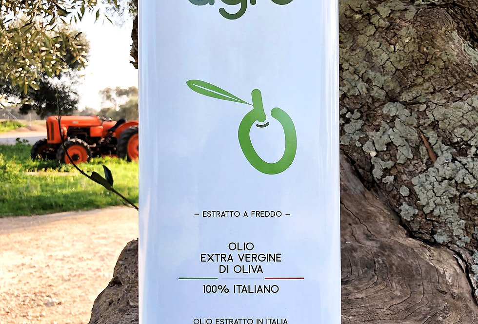 Scatola da 1 Lattina 5L Olio Extravergine
