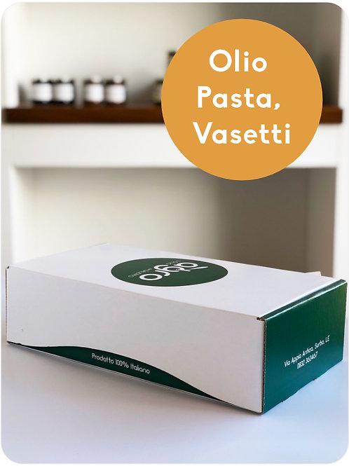 Pasta, Olio, Crema di Cime di Rapa, Olive