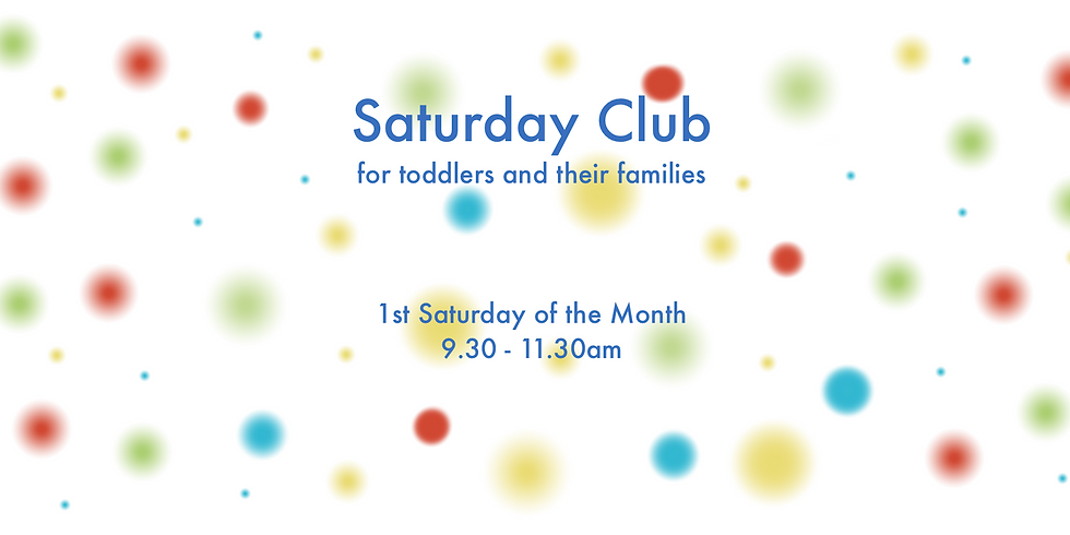 Saturday Club for toddlers