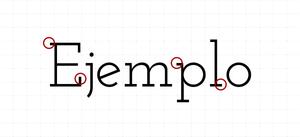 Tipografía Slab Serif