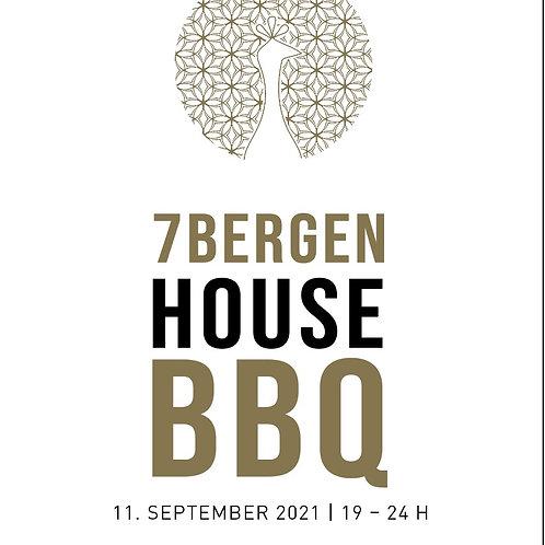HOUSE BBQ 11.SEPTEMBER 2021 inkl. Speisen&Getränke