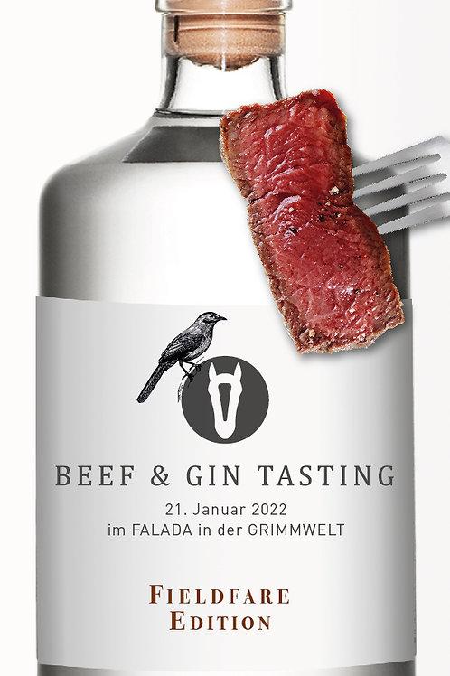 Beef & Gin 21.01.22 experience fieldfare