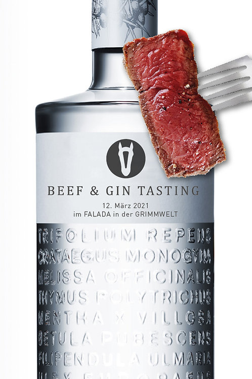 Beef & Gin 12.03.2021