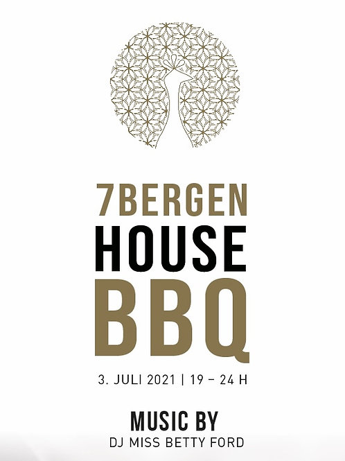 HOUSE BBQ 03.JULI 2021 inkl. Speisen & Getränke