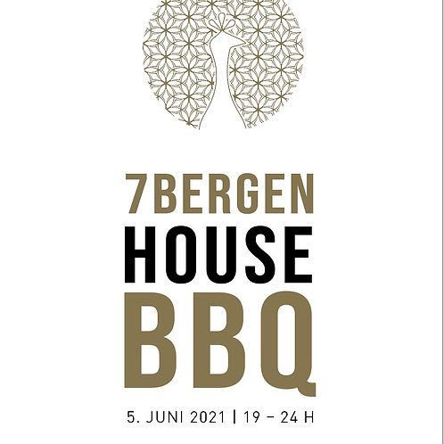 HOUSE BBQ 5.JUNI2021 inkl. Speisen & Getränke