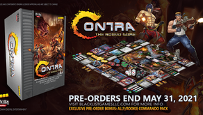 Contra-The Board Game: PRE-ORDERS END MAY 31