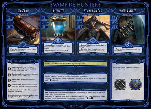 Hero Class Boards Horror Vampire Hunters