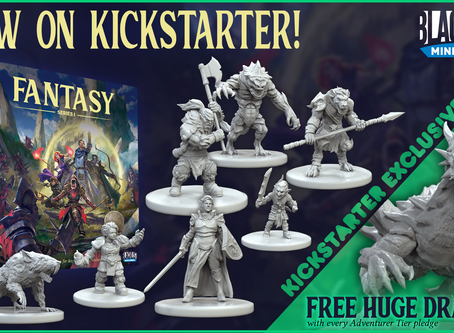 Fantasy Series 1 - Now on Kickstarter