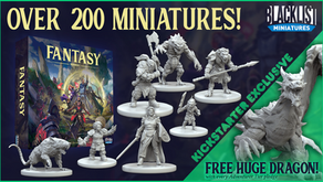 Fantasy: Series 1 Available Again During Dire Alliance Kickstarter