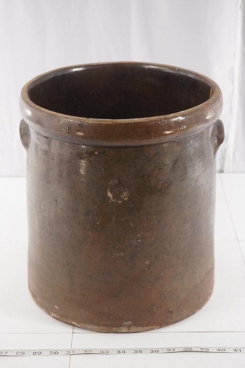 Salt Glazed 6 Gal Crock