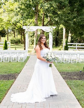 Formal Garden Wedding Ceremony, North Carolina Wedding Venue