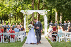 North Carolina All Inclusive Wedding Venue: Formal Garden Wedding