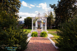 Chateau Vie Courtyard Wedding NC