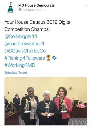 House Caucus 2019 Digital Champ!