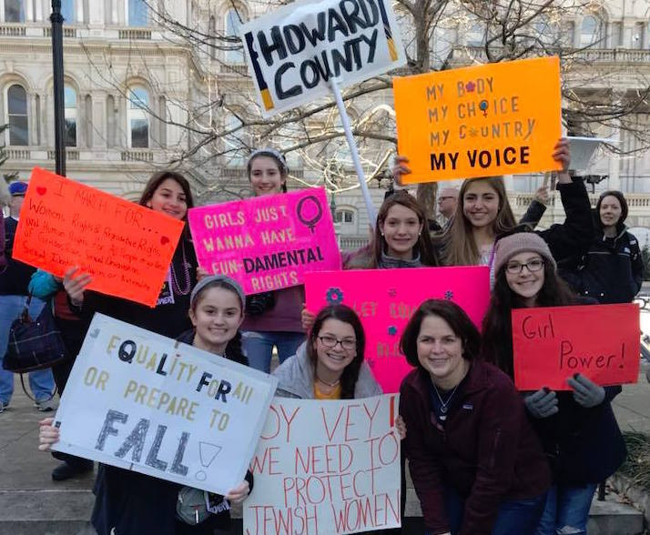 Baltimore Women's March 2018