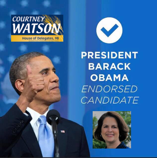 Endorsed by President Obama!