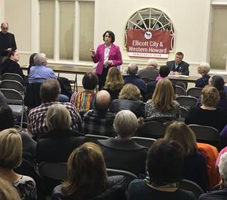 Honor to Win Ellicott City Democratic Club Endorsement