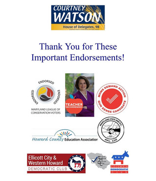 Humbled to Receive These Endorsements