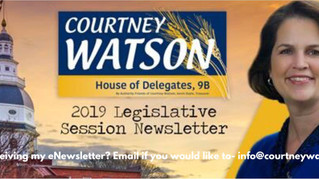 """Information From My Latest eNewsletter """"This Week in Annapolis"""""""