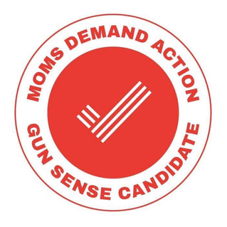 Proud to Have Earned the Moms Demand Action Distinction as a Gun Sense Candidate!