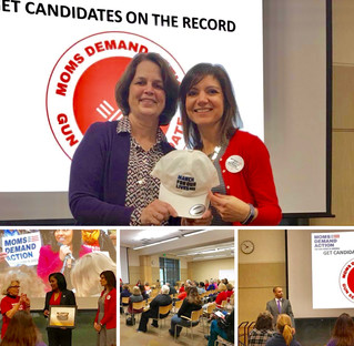 Proud to be the First Howard County Moms Demand Action Candidate of Distinction!