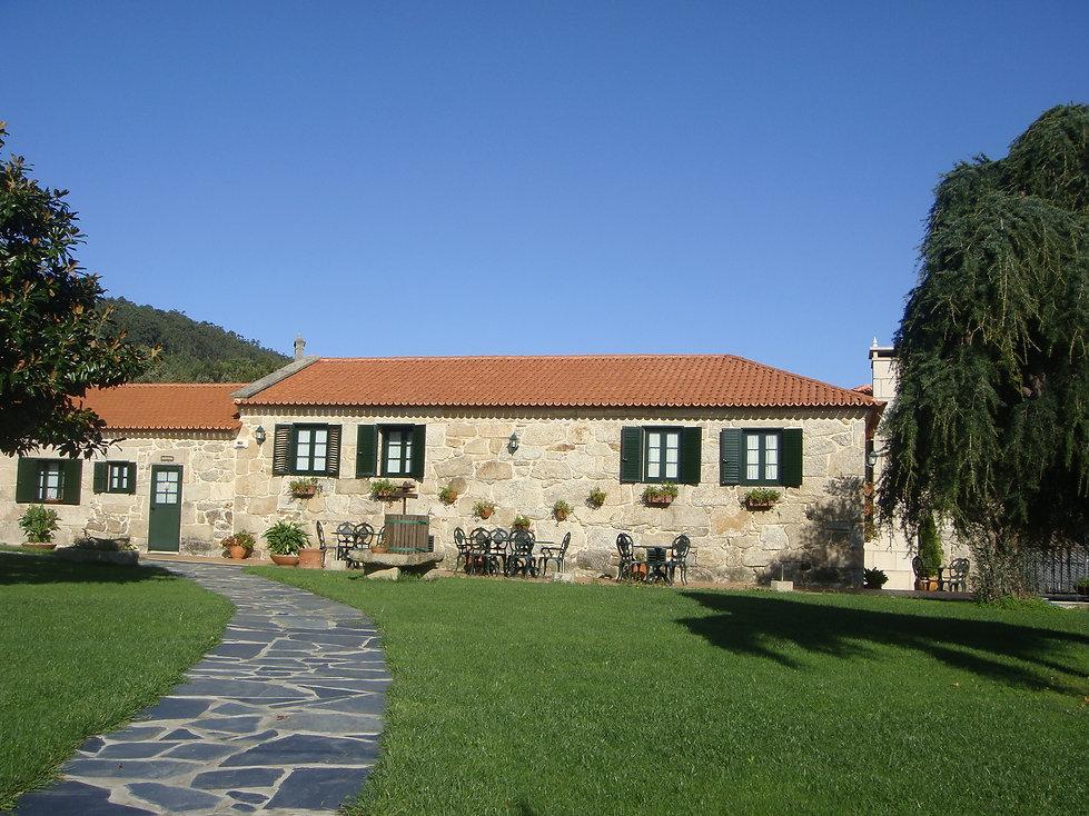 Jardín Casa do Sear Turismo Rural + Garden at the rustic house Casa do Sear