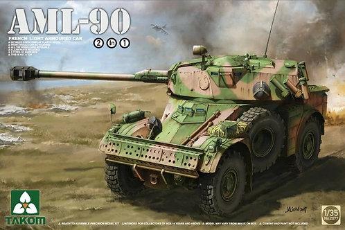 Бронеавтомобиль AML-90 - Takom 2077 1:35