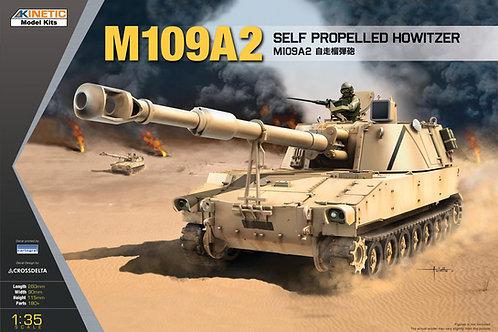 (под заказ) Американская САУ M109A2 - Kinetic K61006 1:35