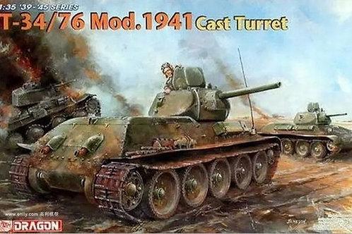 Т-34/76 мод.1941 литая башня - Dragon 6418 1:35