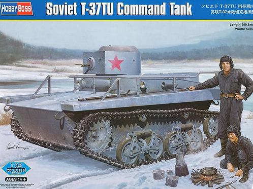 Советский Т-37ТУ командирский - Hobby Boss 83820 - 1:35
