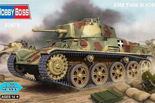 Венгерский танк 43M Toldi III (C40) - Hobby Boss 82479 1:35