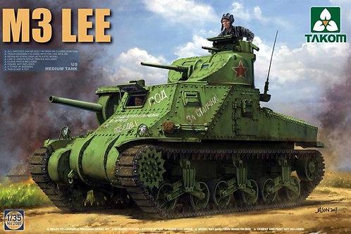 Американский танк M3 Lee (ранний вариант) - Takom 2085 1:35
