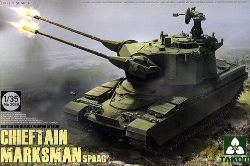 Британская ЗСУ Чифтен Марксман / Chieftain Marksman SPAAG - Takom 2039 1:35