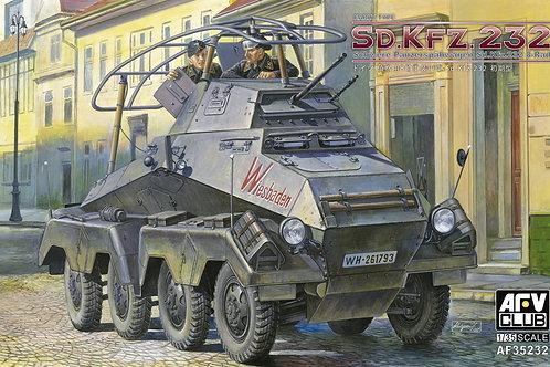 (под заказ) Броневик Sd.Kfz.232 8-Rad, ранняя версия - AFV Club AF35232 1:35