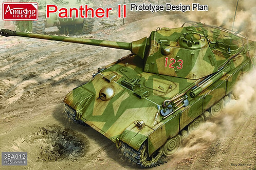 Panther II Prototype Design Plan - Amusing Hobby 35A012 1:35 (под заказ)