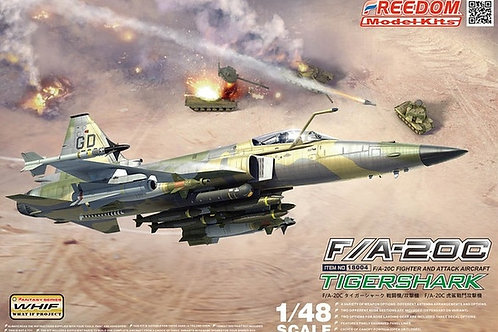 F/A-20C Tiger Shark, If Version - Freedom Model Kits 18004 1:48 под заказ