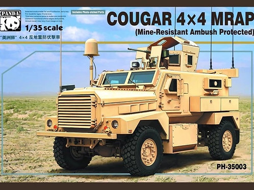 (под заказ) Cougar 4X4 MRAP - Panda Hobby PH35003 1:35