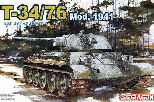 Советский танк Т-34/76 мод. 1941 - Dragon 6205 1:35