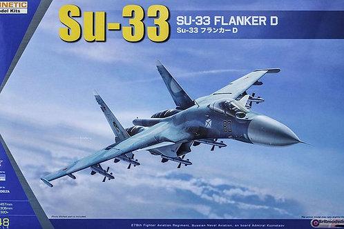 Самолет Су-33 - Kinetic K48062 1:48 - под заказ