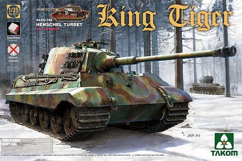 King Tiger, башня Хеншеля, с интерьером - Takom 1:35 2073 2073s