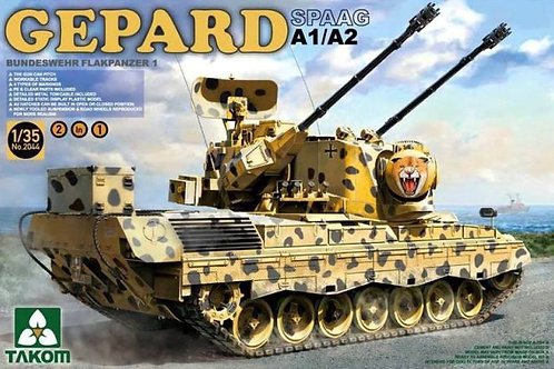 Немецкая ЗСУ Гепард / SPAAG Gepard A1/A2 - Takom 2044 1:35